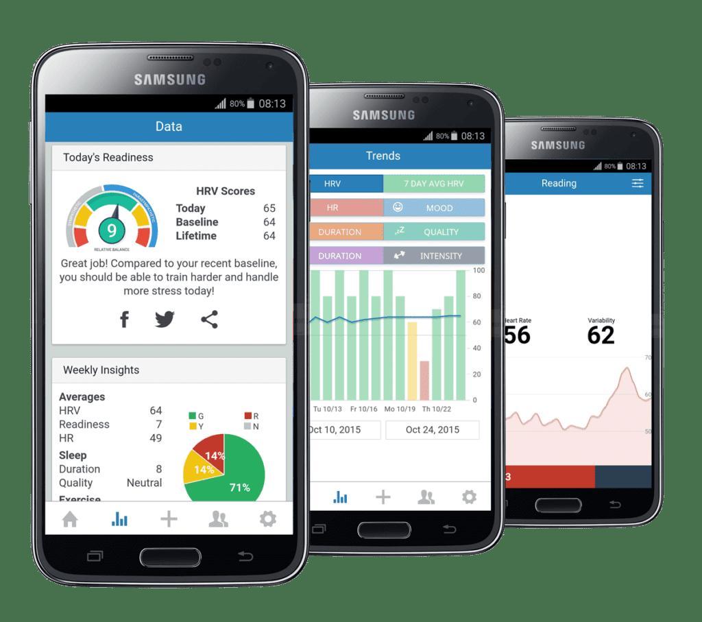 elite hrv mobile application