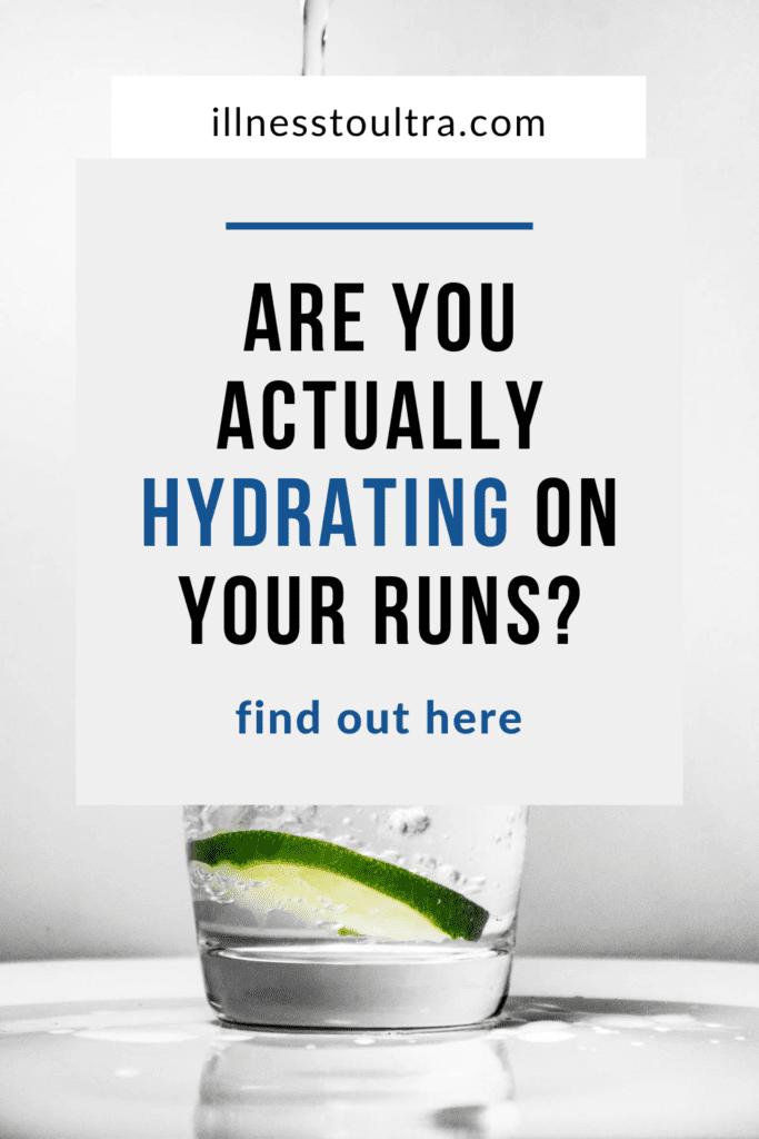 Hydrating on Runs